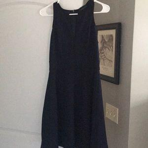 Navy/black classic dress